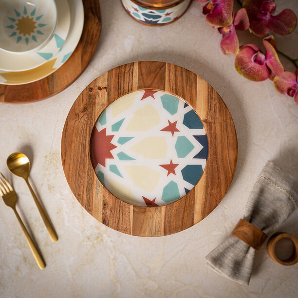 Arabesque Round Charger Plate image number 4