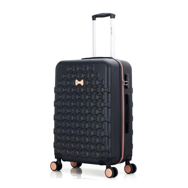 Travel Vision Set Of 4 Butterfly+Vanity Bag Black  image number 2