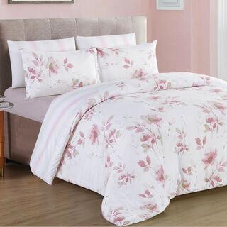 6 Pcs Comforter King Size Set Spring
