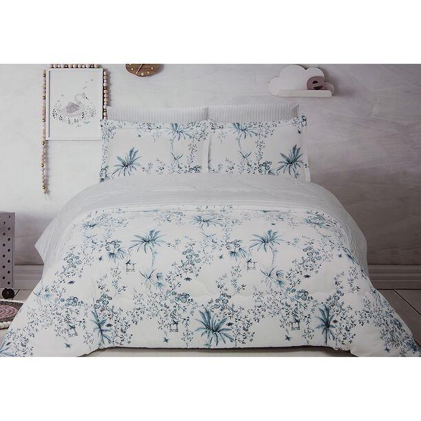 Yaprak Microfiber Comforter Set King Size 5 Pieces image number 0