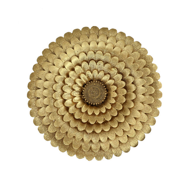 Wall Art Flower Gold image number 1