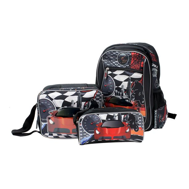 """Backpack + Lunch Bag + Pencil Bag 18""""  image number 0"""