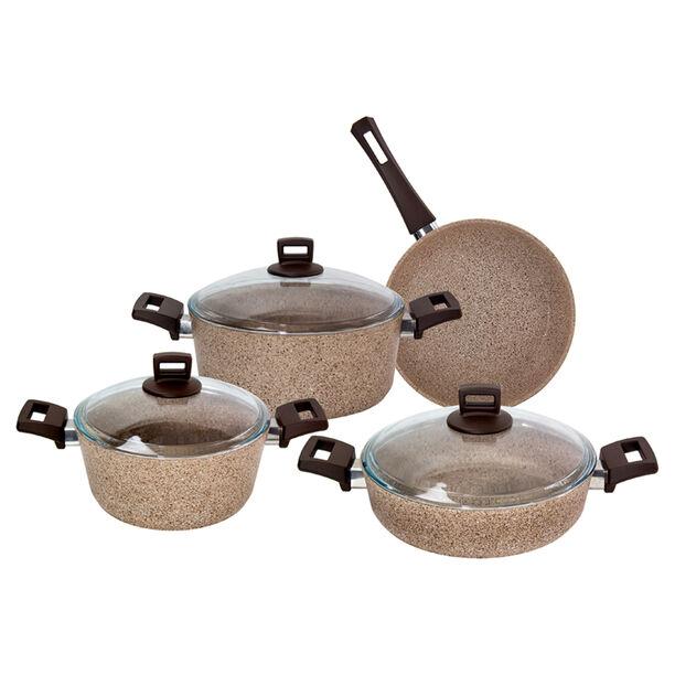 Alberto Granite Cookware Set Of 7 Pieces image number 1