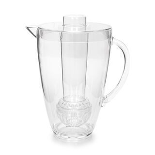 Alberto Acrylic Pitcher With Ice Tube V: 2.5 L