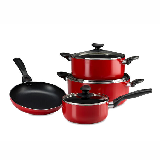 Buy Betty Crocker Non Stick Cookware Set 7 Pieces With
