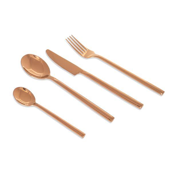 طقم أدوات مائدة ذهبي من لا ميسا image number 0