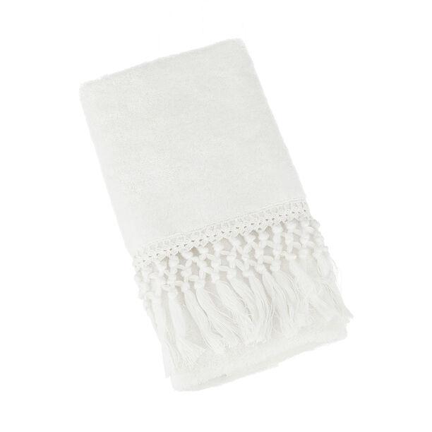 منشفة 50*90 سم لون أبيض image number 1