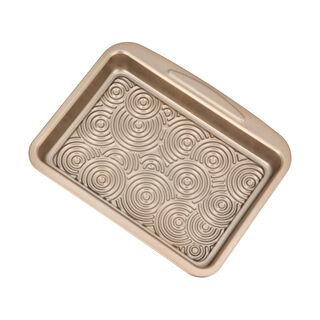 Alberto Non Stick Roaster Pan, Gold Color