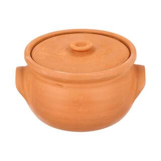 Elizi Clay Pot Handmade Lined Big Size