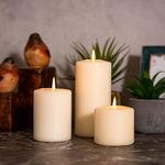 Pillar Candle Basic Ivory image number 1