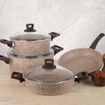 Alberto Granite Cookware Set Of 7 Pieces image number 4
