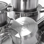Alberto 12Pcs Stainless Steel Cookware Set image number 3