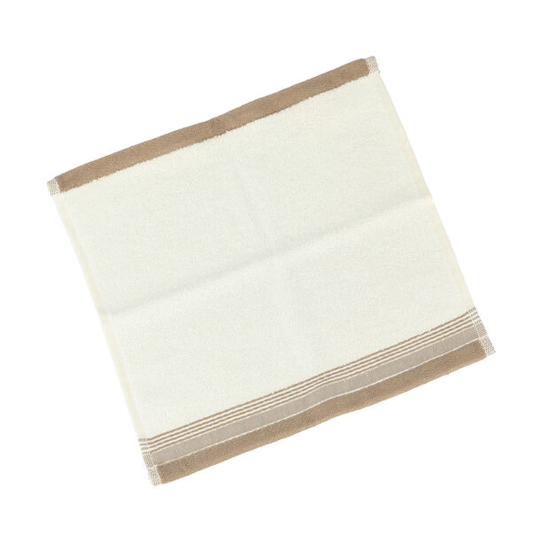 Striped Border Terry Hand Towel 30*30 Cm image number 0
