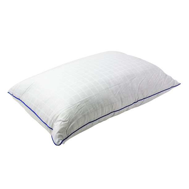 Blue Piped Pillow image number 0