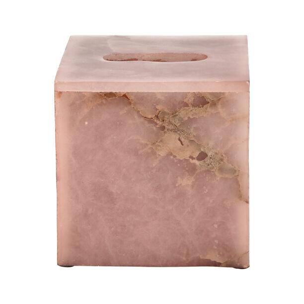 Tissue Box Rose Quartz Premium Stone image number 2