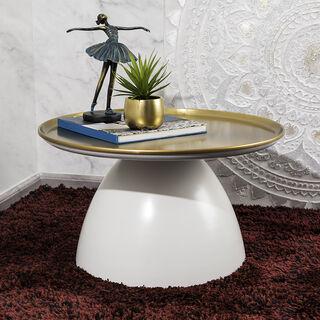 طاولة جانبية من المعدن