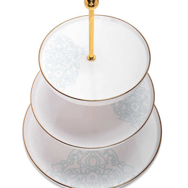 3 Tier Cake Stand Ornament image number 2