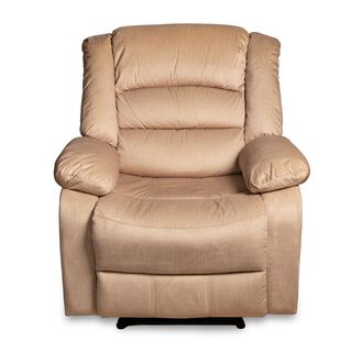 Recliner 1 Seater Cream