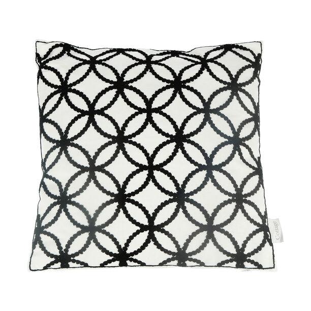 Embroidery Cushion Santorini Circles image number 1