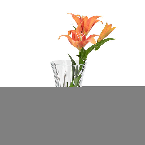 Glass Vase Opera Clear image number 2