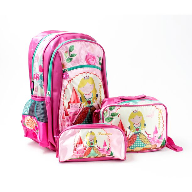 """Backpack + Lunch Bag + Pencil Bag Set 18"""" image number 0"""