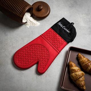 Betty Crocker Silicone Kitchen Glove Red