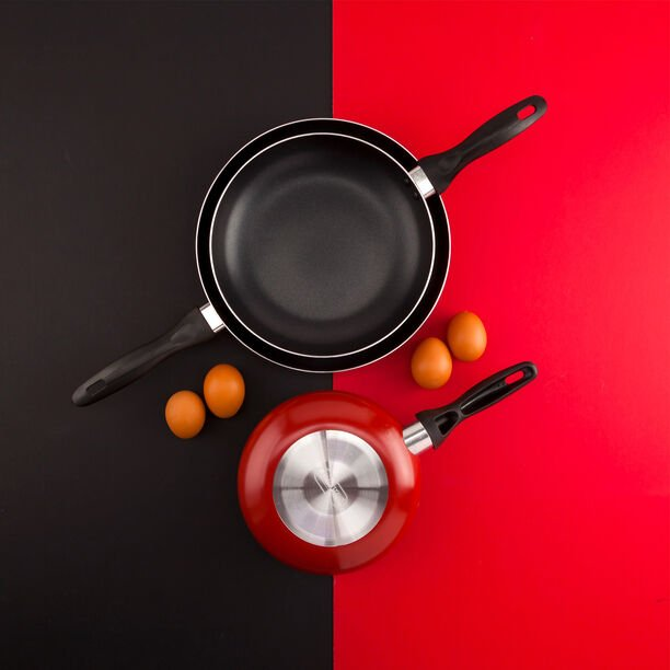 Non Stick Frypan Set Red image number 3