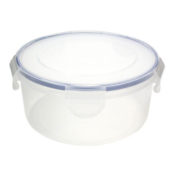 Alberto Plastic Food Saver Round Shape V:2.3L Blue Lid image number 0
