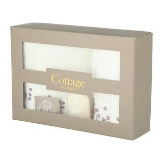 Cottage Cotton Gift Box White