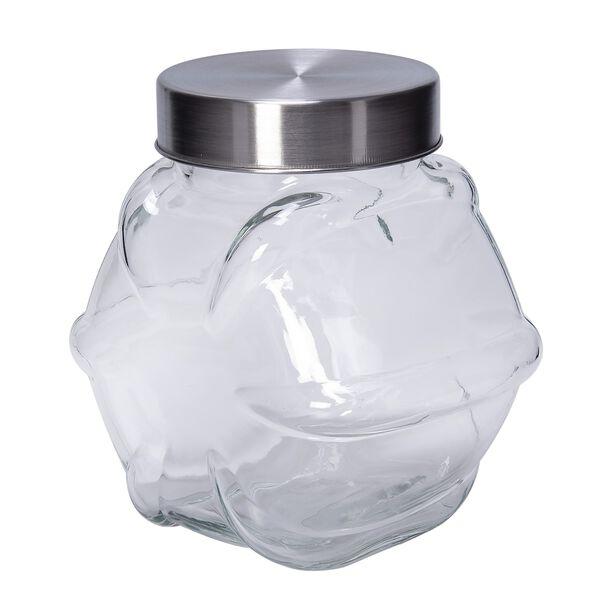 Alberto Glass Jar Star Shape With Metal Lid 1800Ml image number 1