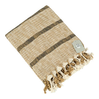 Cottage Throw Woven Brown 125X150 Cm
