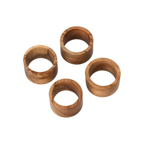Arabesque Napkin Ring Set Of 4 In image number 3