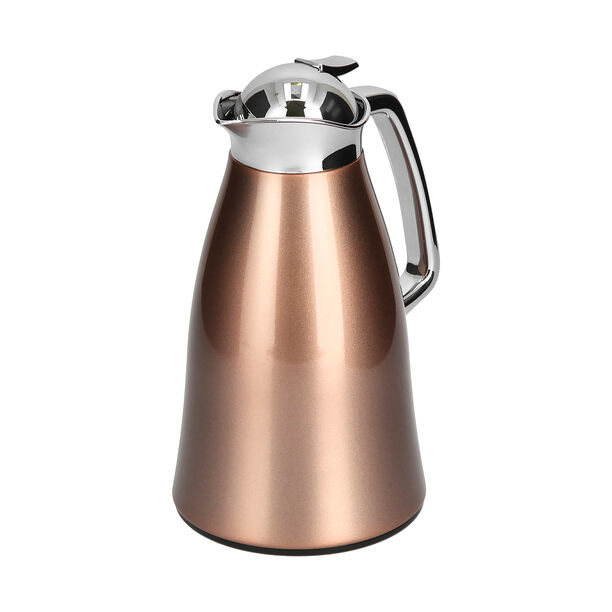 Vacuum Flask Chrome And Rose Gold 1L image number 1