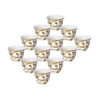 Kan Ya MakanCoffee Cup Set 12 Pieces 90Ml