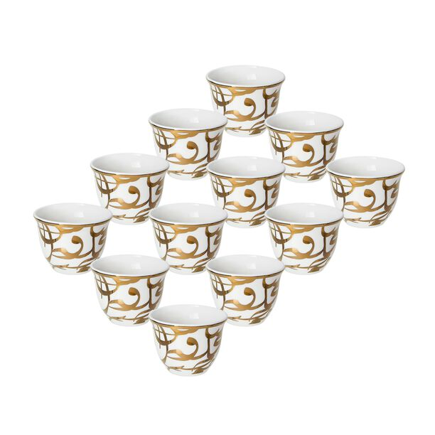 Kan Ya MakanCoffee Cup Set 12 Pieces 90Ml image number 0