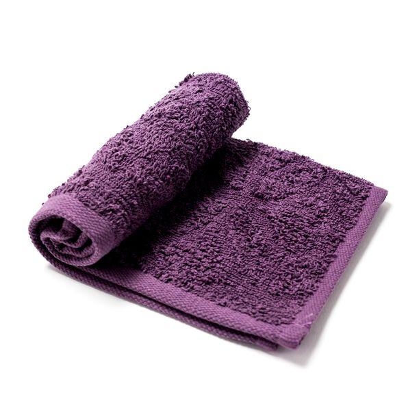 Cotton Towel Vibe Dark Lilac 30X30Cm image number 0