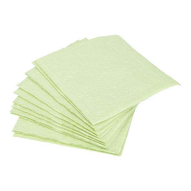 مناديل ورقية مربعة الشكل اخضر من الجانس  image number 0