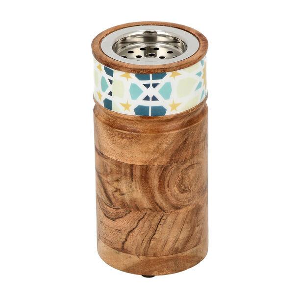 Oud Burner Wood Arabesque image number 2