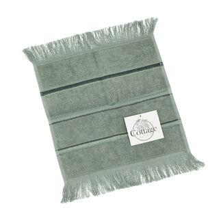 Face Towel Stripe Green