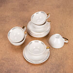 English Coffee Cups Set Gold 100 Ml image number 2