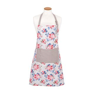 Cottage Kitchen Apron - Spring Design - Powder Color