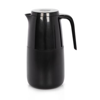 Dallaty Vacuum Flask 1 Pieces Pot Black 1L