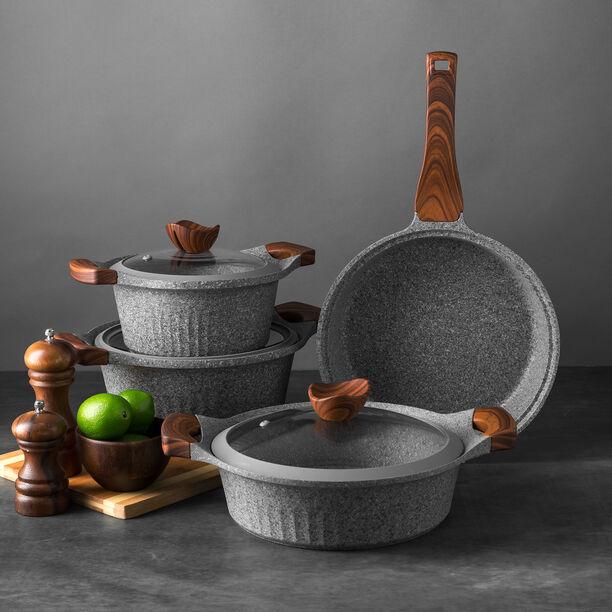 Alberto Yeni Granit 7Pcs Cookware Granistone image number 3