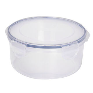 Alberto Plastic Food Saver  Round  Shape V-1.5L Blue Lid