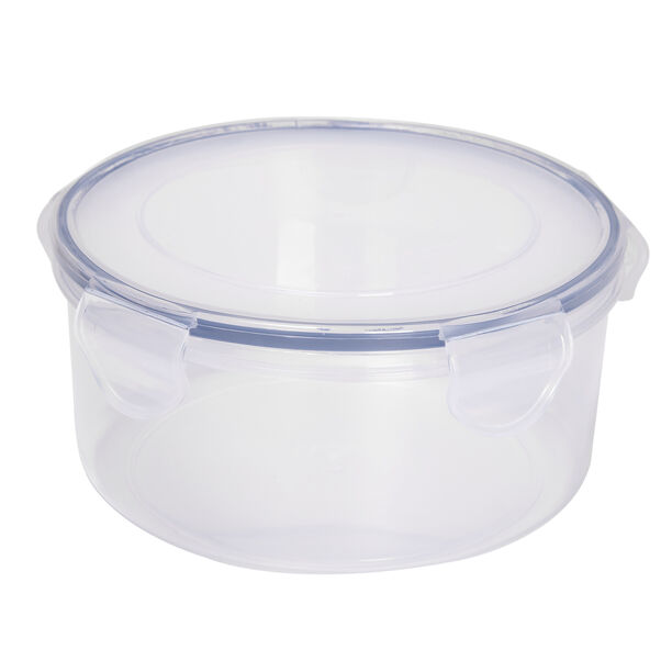 Alberto Plastic Food Saver Round Shape V:1.5L Blue Lid image number 0
