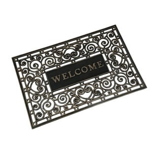 Wrought Iron With Welcome