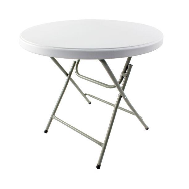 طاولة جانبية دائرية قابلة للطي image number 0