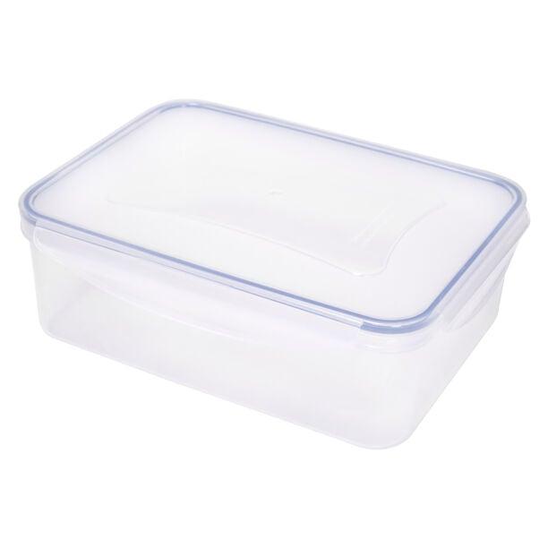Alberto Plastic Food Saver Rect Shape V:3.8L Blue Lid image number 0