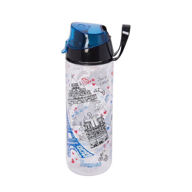 Herevin Plastic Sports Bottle V:0.75L Paris Design image number 0