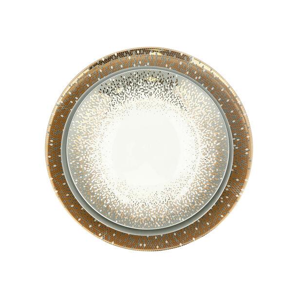 18 Pcs Fine Bone Porcelain Dinner Set Serve 6 Persons image number 2